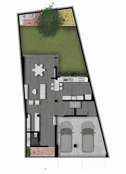 01 casa alpes planta baja