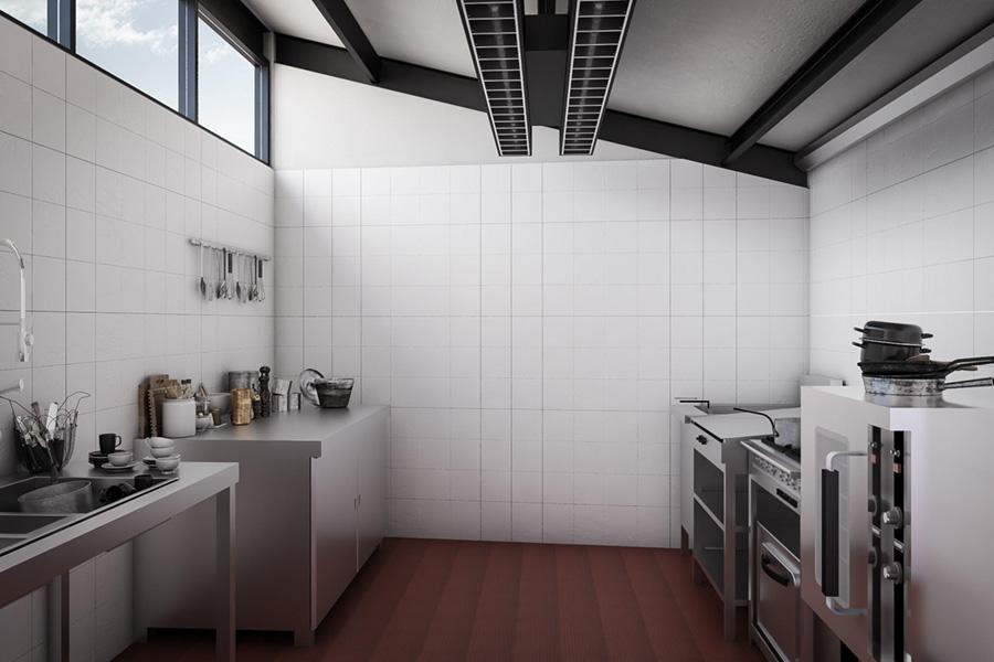 Interior de tactic kitchen