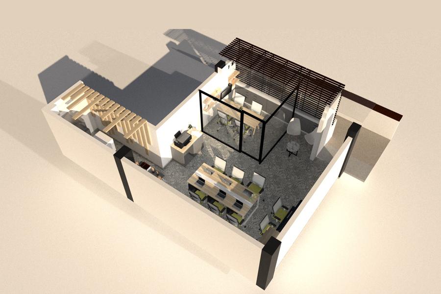 Plano 3D del proyecto ZEA